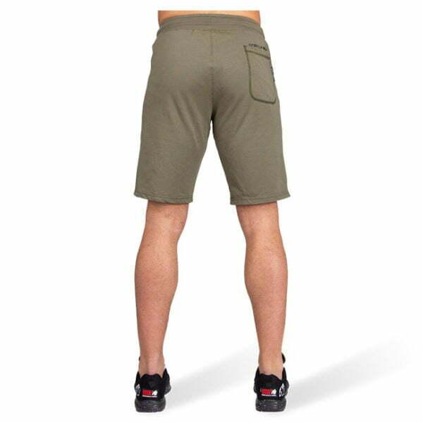 Pantaloni Scurti Barbati San Antonio - Verde Militar - Pantaloni Fitness