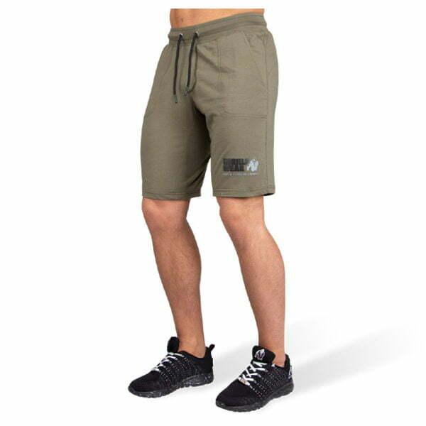 Pantaloni Scurti Barbati San Antonio - Verde Militar - Pantaloni GorillaWear