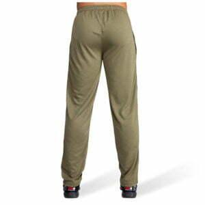 Pantaloni cu plasa Verde Militar Reydon - Pantaloni Alergare