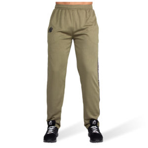 Pantaloni cu plasa Verde Militar Reydon - Pantaloni GorillaWear