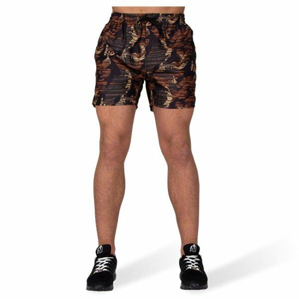 Pantaloni de baie Barbati Bailey - Maro Camuflaj - Haine sport