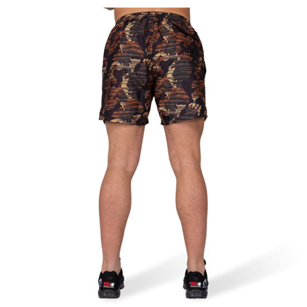 Pantaloni de baie Barbati Bailey - Maro Camuflaj - Pantaloni Sport