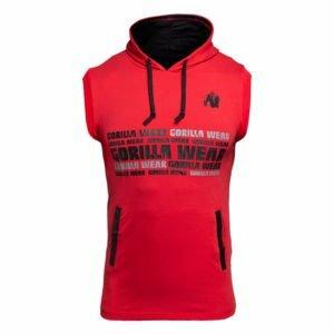 Tricou Barbati cu gluga Melbourne - Rosu - Tricou Fitness