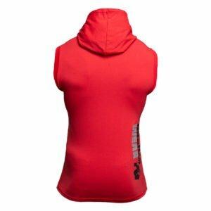 Tricou Barbati cu gluga Melbourne - Rosu - Tricou Sport