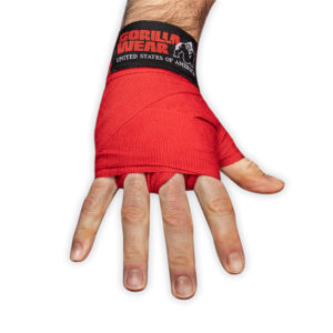 Chingi de Box Hand Wraps - Roșu