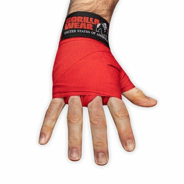Chingi de Box Hand Wraps - Roșu