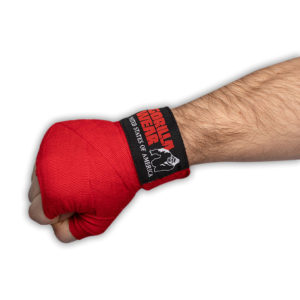 Chingi de Box Hand Wraps - Roșu - Chingi Fitness