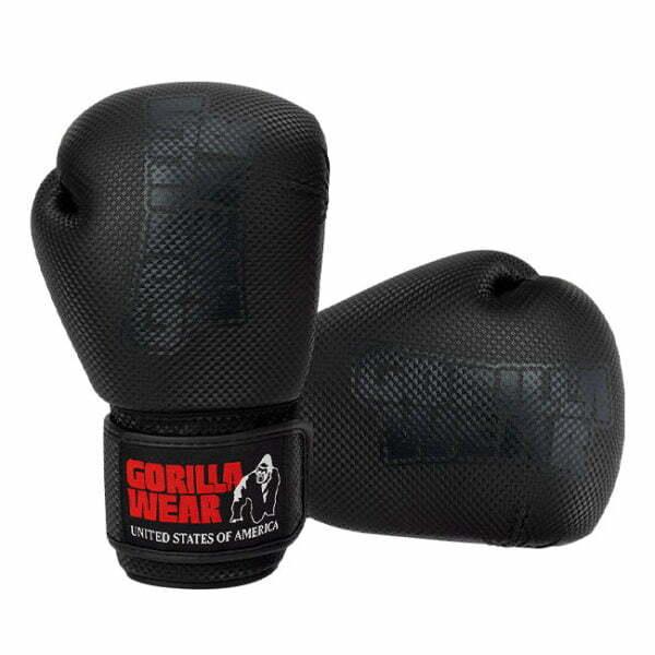 Manusi de Box Montello - Negru - Manusi Sport