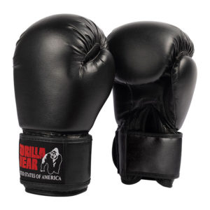 Manusi de Box Mosby - Negru - Manusi GorillaWear