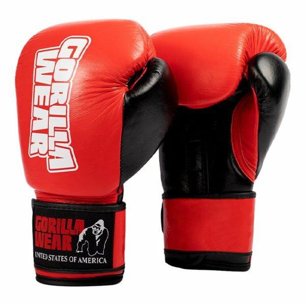 Manusi de box Ashton Pro - Rosu cu Negru