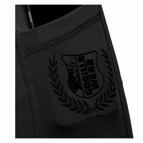 Pantaloni Scurti Barbati Smart - Negru - Pantaloni Antrenament