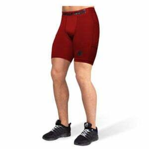 Pantaloni Scurti Barbati Smart - Rosu - Pantaloni Fitness