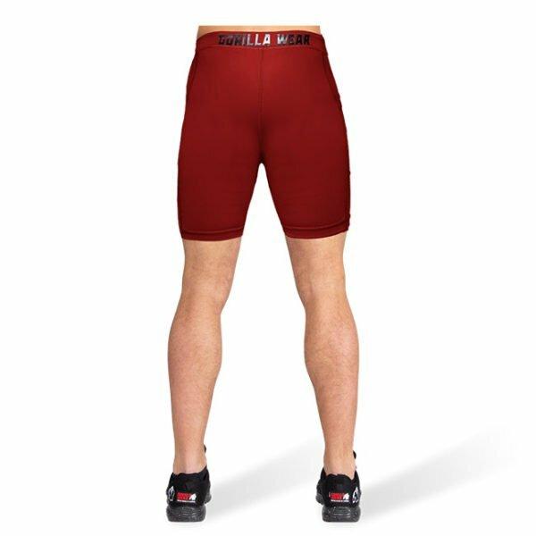 Pantaloni Scurti Barbati Smart - Rosu - Pantaloni GorillaWear