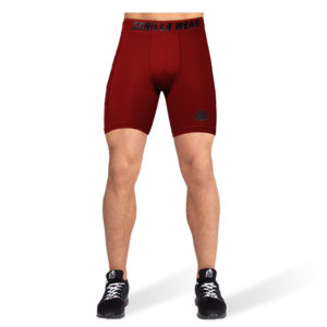Pantaloni Scurti Barbati Smart - Rosu - Pantaloni Sala
