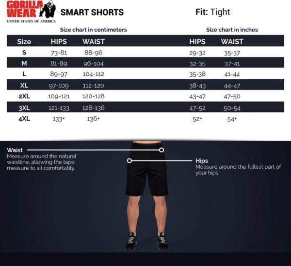 Pantaloni Scurti Barbati Smart - Rosu - Pantaloni Sport