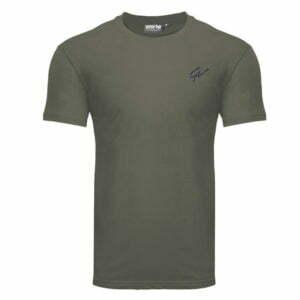 Tricou Barbati Johnson - Verde Militar - Tricou GorillaWear