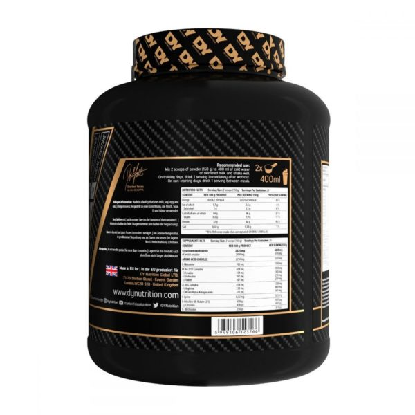 Gainer DY The Game Changer Mass 3kg - proteina forta