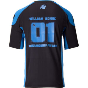Tricou Barbati Athlete 2.0 William Bonac - Bleumarin-Negru - Navy-Black - Haine sala