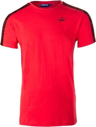 Tricou Barbati Chester - Rosu-Negru - Red-Black - Echipament sala barbati