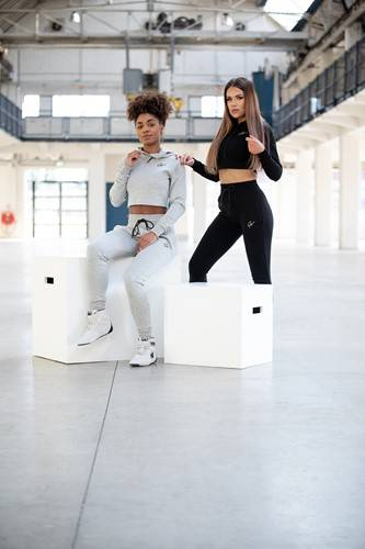 Pantaloni femei Pixley - Gri - Grey - pantaloni fitness