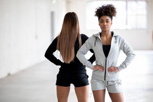 Pantaloni Femei de Sala Culoare Gri Pixley Gorilla Wear