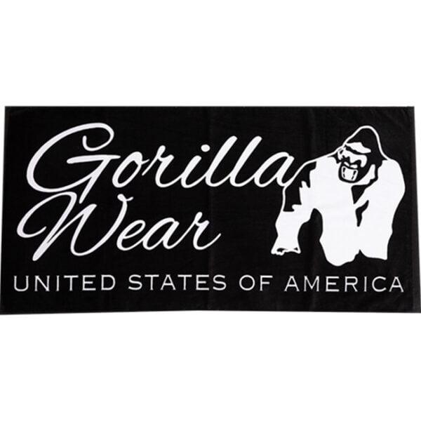 Prosop De Sala Classic Negru Alb - Prosop Gorilla Wear